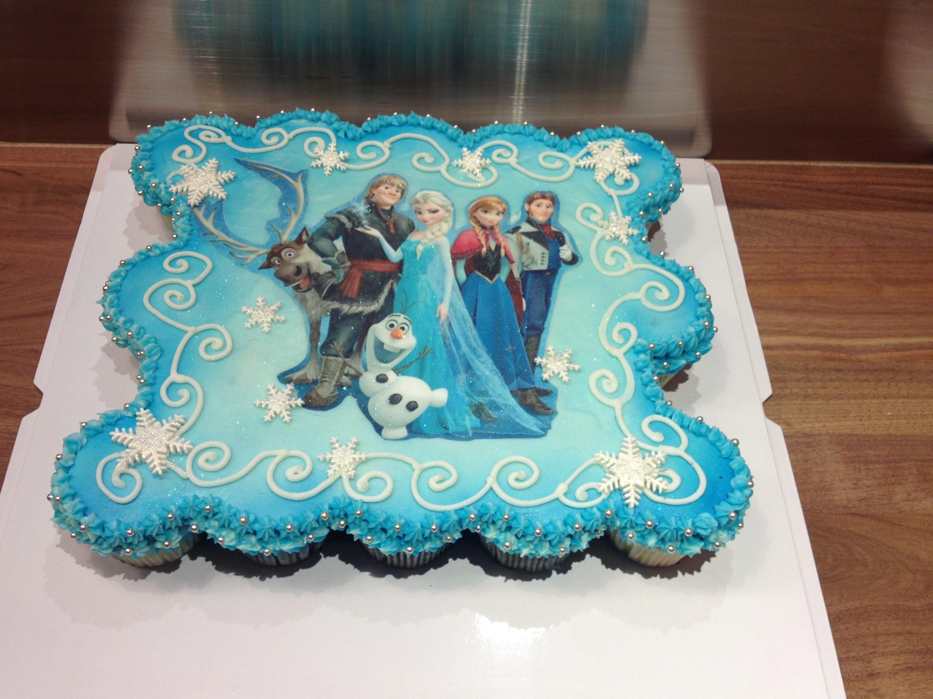 Pull Apart Cupcake Cakes